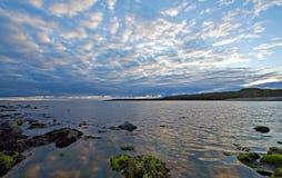 Mar tranquilo Imagen de archivo libre de regalías