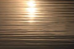 Mar tranquilo del agua de la textura Fotos de archivo libres de regalías