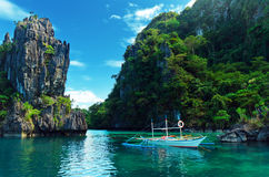 Mar tropical Foto de Stock Royalty Free