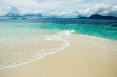 Mar tropical Fotografia de Stock