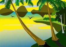 Mar tropical Fotos de Stock