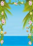 Mar tropical stock de ilustración