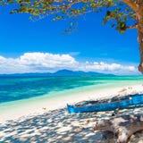 Mar tropical del día Fotografía de archivo