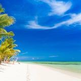 Mar tropical do dia Imagem de Stock