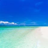 Mar tropical do dia Foto de Stock
