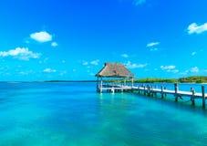 Mar tropical hermoso fotos de archivo