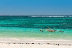 Mar tropical - Oceano Índico Foto de Stock