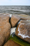 Mar turbulento Foto de Stock Royalty Free