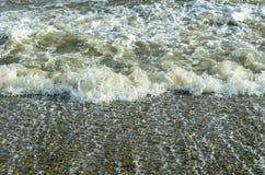 Mar turbulento Fotos de archivo libres de regalías