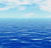 Mar u océano Imágenes de archivo libres de regalías
