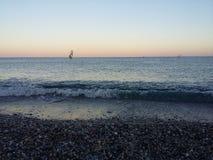 Mar vacío Fotografía de archivo