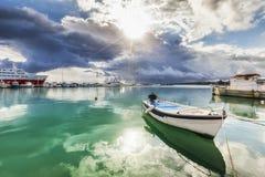 Mar verde Imágenes de archivo libres de regalías