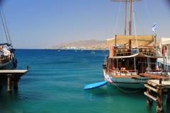 Mar Vermelho na paralisação Retire amanhã no mar Imagem de Stock