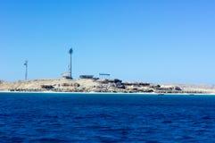 Mar Vermelho perto de Hurghada, bonito fotos de stock royalty free