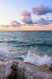 Mar y acantilado Fotografía de archivo