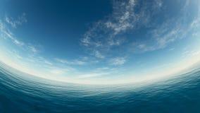 Mar y cielo Foto de archivo