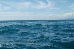 Mar y cielo Fotos de archivo libres de regalías