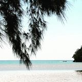 Mar y cielo Foto de archivo libre de regalías
