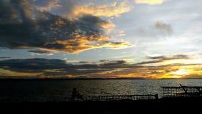 Mar y cielo Imagen de archivo libre de regalías