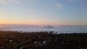 Mar y cielo asombrosos Foto de archivo