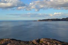 Mar y cielo de Barents Fotografía de archivo libre de regalías