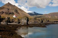 Mar y glaciar Fotografía de archivo libre de regalías