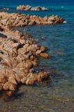 Mar y granito Imagenes de archivo
