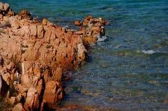 Mar y granito Foto de archivo