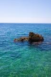 Mar y la roca Fotografía de archivo