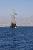 Mar y nave Foto de archivo