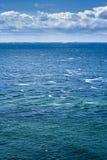 Mar y nubes Foto de archivo