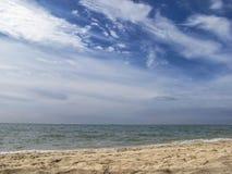 Mar y nubes Fotos de archivo