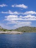 Mar y nubes Foto de archivo libre de regalías