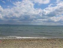 Mar y nubes Fotografía de archivo