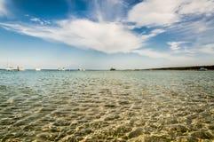 Mar y nubes Imagenes de archivo