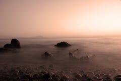 Mar y nust Fotografía de archivo