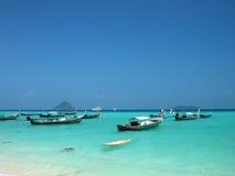 Mar y playa Foto de archivo libre de regalías