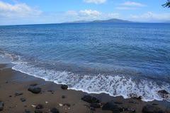 Mar y playa de la isla de Taveuni imágenes de archivo libres de regalías