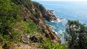 Mar y rocas Fotografía de archivo