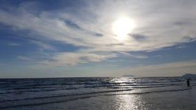 Mar y sol Fotografía de archivo