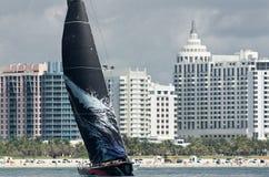Mar z Miami Plaży Mostro Obrazy Stock