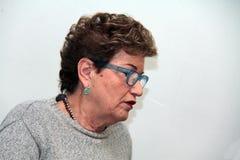 Mara Maionchi, photo March 2014 Royalty Free Stock Image