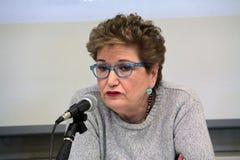 Mara Maionchi, photo March 2014 Royalty Free Stock Photo