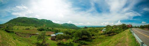 Mara Region Panorama photographie stock libre de droits