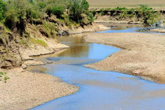 The Mara river of Kenya Stock Photography