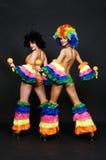 maraca χορευτών Στοκ εικόνα με δικαίωμα ελεύθερης χρήσης