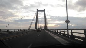 Maracaibo& x27 γέφυρα του s Στοκ φωτογραφία με δικαίωμα ελεύθερης χρήσης