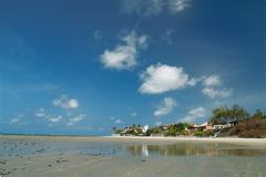 Maracaju's beach,Natal Royalty Free Stock Images