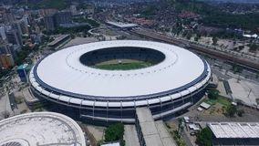 Maracan stadion i Rio de Janeiro i Brasilien Shevelev arkivfilmer