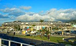 Maracana体育场在里约热内卢 免版税库存图片